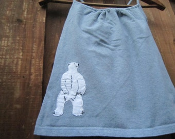 Standing Polar Bear Tank Top