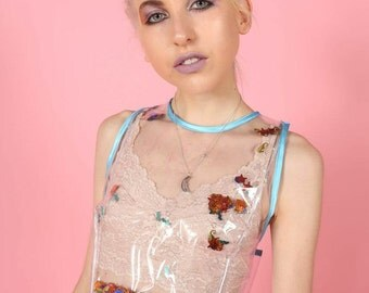 MERMAID CONFETTI PVC Top