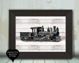 Train Wall Decor train wall decor | etsy