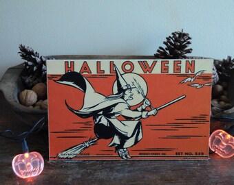 Halloween Candy Box Cutout