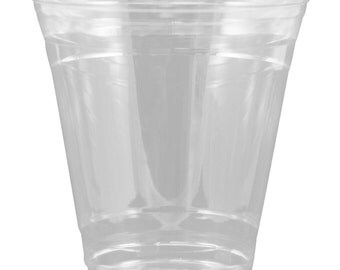 Clear 12oz Cold Cup with Lid (Qty 35)