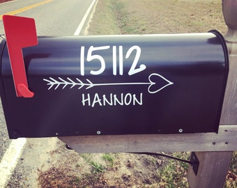 Personalized Mailbox Vinyl