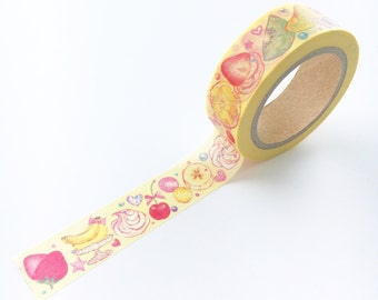Quite Healthy Snack Washi Tape