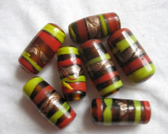 Vintage multicolored beads