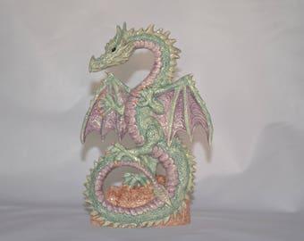 Ceramic Dragon Statue