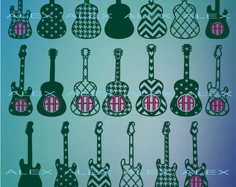 70% OFF, Guitar Svg, Guitar Cricut Cut Files, Guitar Svg Files, Dxf, Png, Eps File, Guitar Monogram Svg, Guitar Silhouette, Guitar Clipart