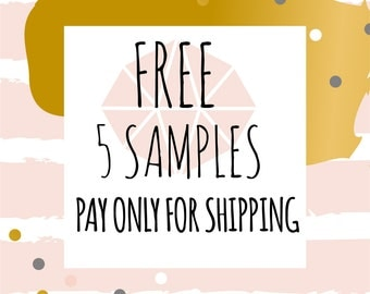 Free 5 Samples Any Fabric