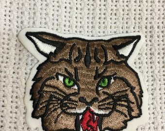BOBCAT LYNX WILDLIFE Patch Mint Cond Detailed Item