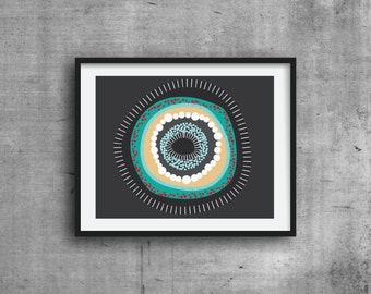 Graphic Print, Art Print, Graphic Pattern, Pattern Design, Abstract Print, Wall Decor