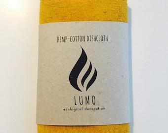 Eco LUMO hemp-cotton dishcloth