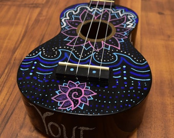 Daughter Of The Sea Ukulele (Hand Painted) (One-Off)