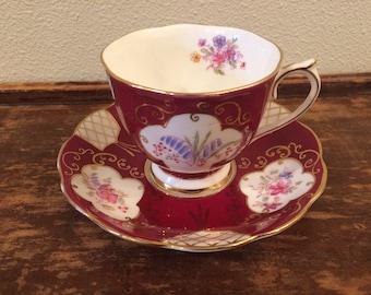 Royal Albert Arabesque Demitasse Teacup