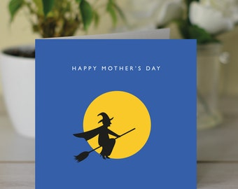 Happy Mother's Day 'Witch' card