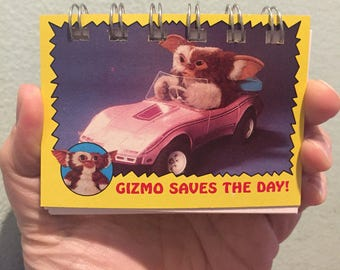 Gizmo Saves The Day Trading Card Small Notebook #178