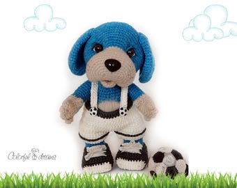 "Crochet pattern ""Puppy"""