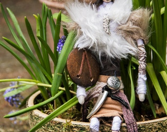 Wiccan art doll Faolan style