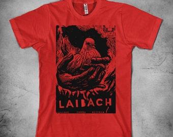 Laibach - t shirt , mens t shirt, industrial t shirt, Laibach art, Laibach shirt, NSK t shirt, laibach tee