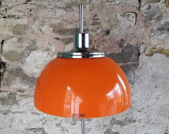 Vintage Mid Century Rare Adjustable Floor Lamp Design by Harvey Guzzini 70s