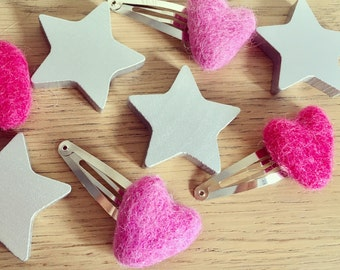 You Are Loved Hair Clips, Spring Pastels
