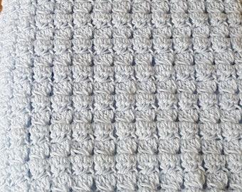 Hand Crochet Baby Blanket for Boy