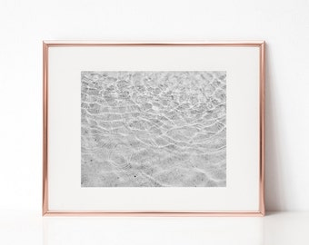 Clear Water Grey Wall Art, Printable Art, Photography Print, Wall Decor, Wall Art