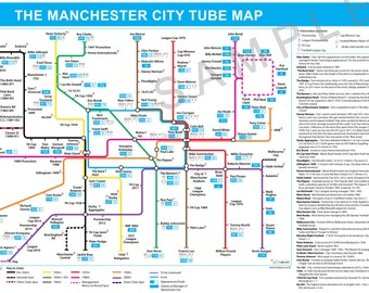 The Manchester City Tube Map