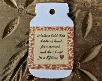 Mothers Day Gift Tag - Mothers Hold