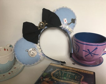 Alice in Wonderland Inspired Mouse Ears
