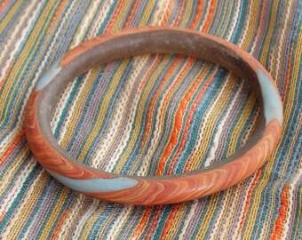 Ancient glass bracelet, Late Roman or Byzantine 5-2nd century AD