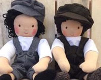 Handmade waldorf style doll
