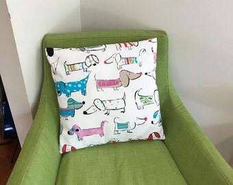 Daschund Cushion Cover