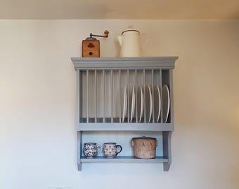 Country Kitchen Plate Rack