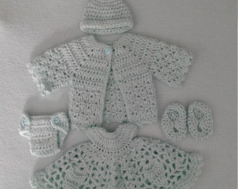 Mint green for a tiny girl or goll