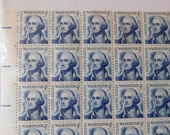 US Postage Washington 5 Cent Stamp  Dating back to 1960's