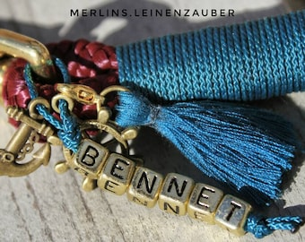 Name pendant for dog collars & leashes