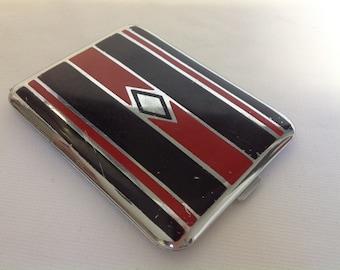 Vintage 1920/30's Art Deco Ronson Cigarette Case