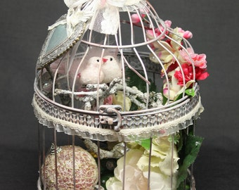 Decorative bird cage etsy - Decoration cage oiseau ...