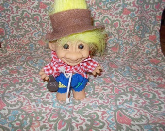 Patchwork Troll Doll by Russ