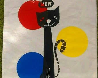 MEW retro style tote bag, limited edition of ten