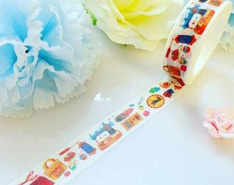 Sewing Washi Tape Crochet Knitting Craft Masking Deco Tape