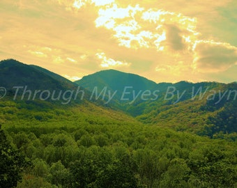 Sunrise in the Great Smoky Mountains National Park