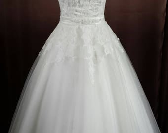 "Rockabilly 50 60s wedding dress of wedding dress ""Lea"""