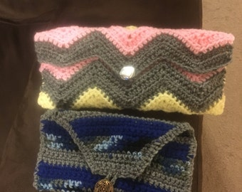 Clutch made to customer choice of color