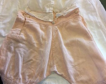 Handmade vintage little girls undergarment