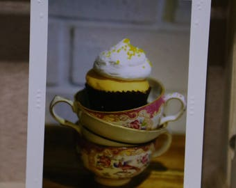 Tea Delight Greeting Card - Birthday - Mother's Day - Thank You