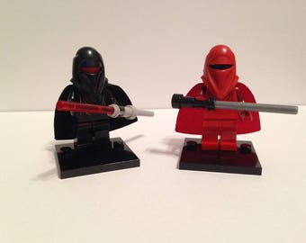 Red Guard or Shadow Trooper Minifigure | Star Wars Series | Custom - 100% Compatible | #210