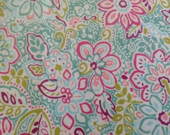 Cotton, Floral Pillow case,Made in VT