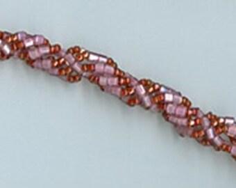 Handmade Sprial Beaded Bracelet