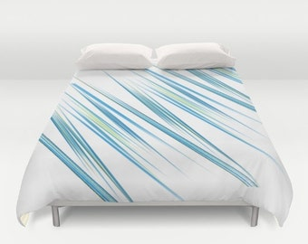 King Duvet Covers & Queen Duvet Covers - Full Duvet Covers - Abstract Artwork by Mackin - Luxury Bedding Limited Addition - - SHIPS FREE