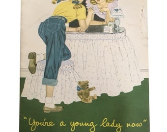 You're a lady now puberty information booklet